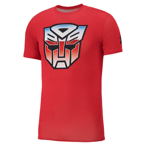 UNDER ARMOUR MEN'S ALTER EGO RED AUTOBOTS