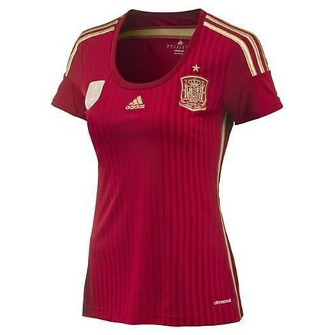 ADIDAS WOMEN'S WORLD CUP SPAIN HOME JERSEY