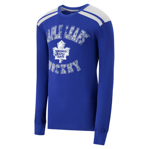 GIII MEN'S TORONTO MAPLE LEAFS DIVISION 1 LONG SLEEVE TOP