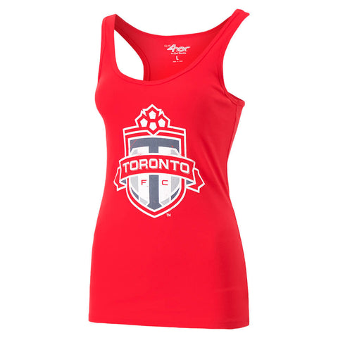 GIII 4HER WOMEN'S TFC TANK RED