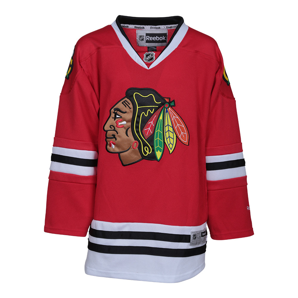 8400504f0 REEBOK YOUTH CHICAGO BLACKHAWKS PREMIER JERSEY – National Sports