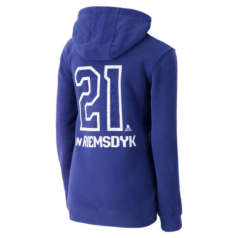 REEBOK YOUTH TORONTO MAPLE LEAFS LOCKER HOODY #21 VAN RIEMSDYK