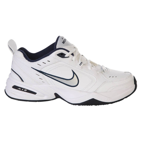 NIKE MEN'S MONARCH IV TRAINING SHOE WHITE/BLUE