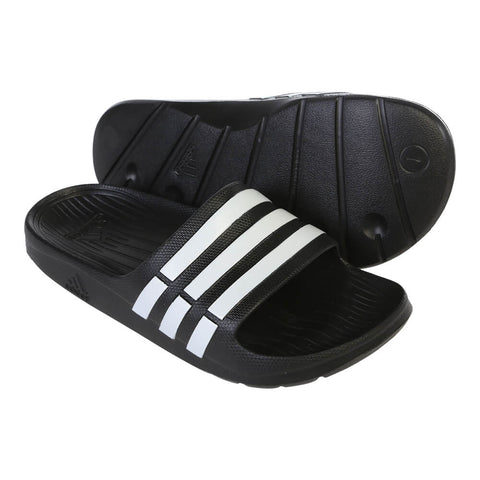 ADIDAS MEN'S DURAMO SLIDE BLACK