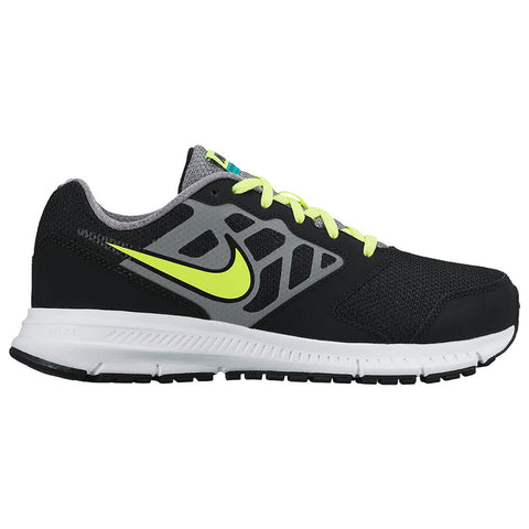 NIKE BOYS GRADE SCHOOL/PRE-SCHOOL DOWNSHIFTER 6 JUNIOR SHOE BLACK/VOLT/GREY