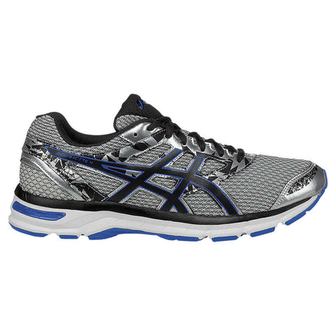 ASICS MEN'S GEL EXCITE 4 RUNNING SHOE SILVER/BLACK/IMPERIAL