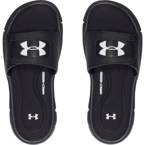 UNDER ARMOUR BOYS IGNITE V SL SANDAL BLACK/WHITE