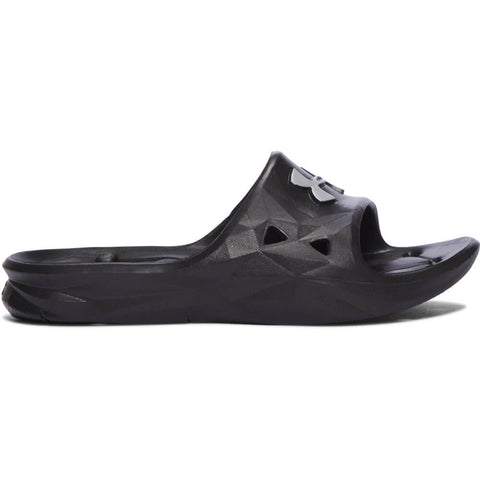 UNDER ARMOUR BOYS LOCKER III SLIDE BLACK ... 8a646b279826d
