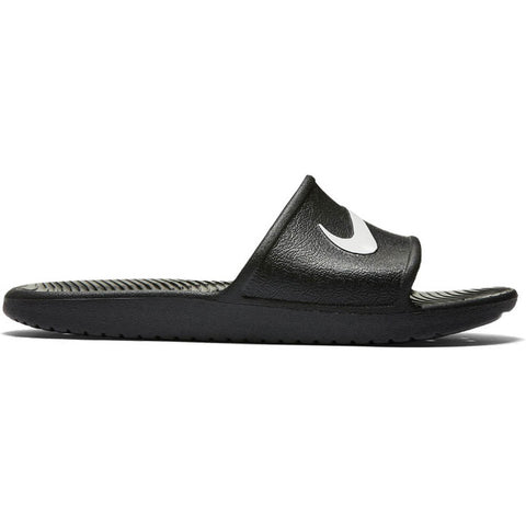 NIKE MEN'S KAWA SHOWER SLIDE BLACK/WHITE