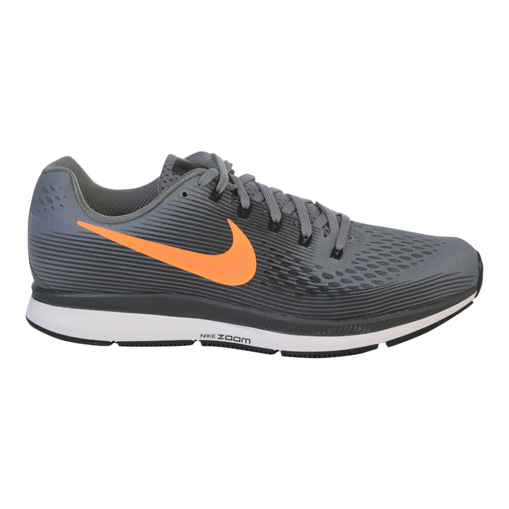 ff0dccd7050 NIKE MEN S AIR ZOOM PEGASUS 34 RUNNING SHOE COOL GREY TART ...