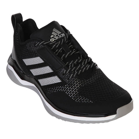 ADIDAS MEN'S SPEED TRAINER 3.0 TRAINING SHOE BLACK/SILVER/WHITE