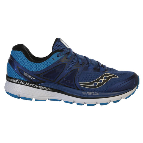 SAUCONY MEN'S TRIUMPH ISO 3 RUNNING SHOE BLUE/SILVER