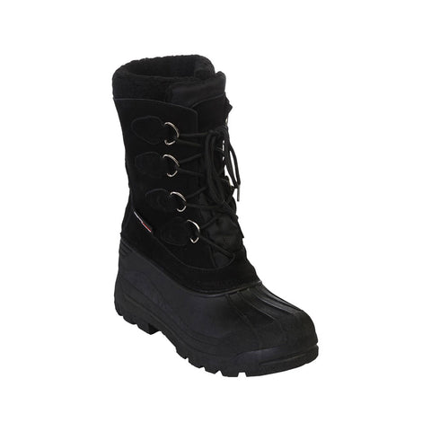 MISTY MOUNTAIN MEN'S ARCTIC SNOW BOOT BLACK