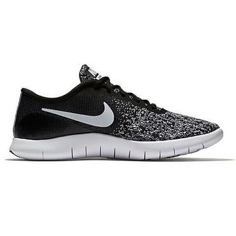 NIKE WOMEN'S FLEX CONTACT RUNNING SHOE BLACK/WHITE