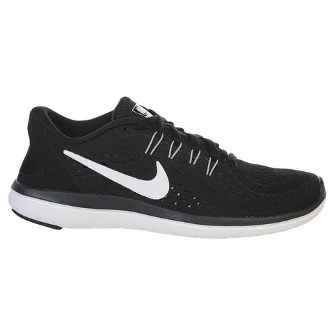 NIKE WOMEN'S FLEX 2017 RN RUNNING SHOE BLACK/WHITE
