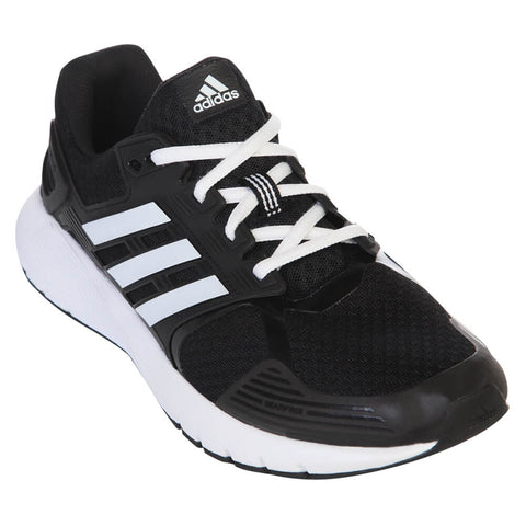 ADIDAS MEN'S DURAMO 8 RUNNING SHOE BLACK/WHITE