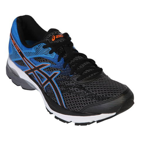 ASICS MEN'S GEL FLUX 4 CARBON/BLACK/BLUE