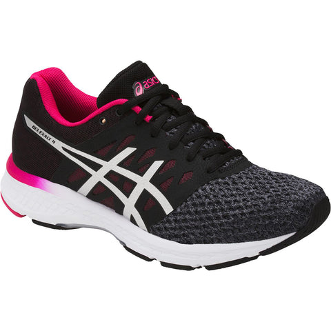 ASICS WOMEN'S GEL EXALT 4 RUNNING SHOE CARBON/SILVER/PINK