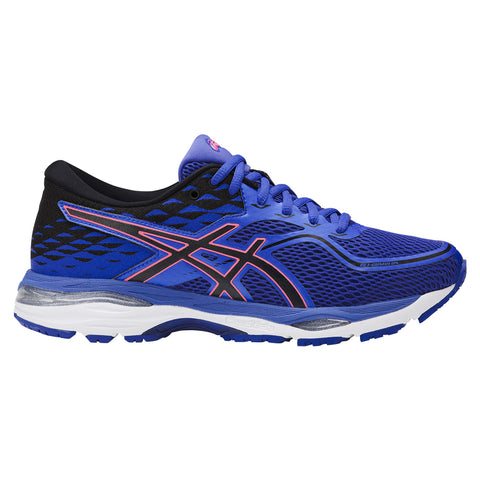 ASICS WOMEN'S GEL CUMULUS 19 RUNNING SHOE BLUE/BLACK/CORAL