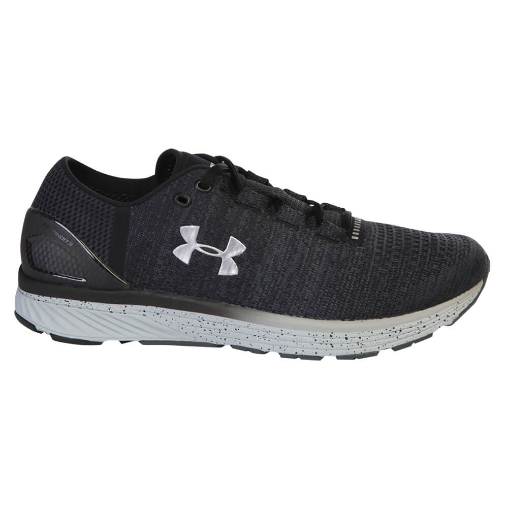 timeless design 238c9 ea6e3 UNDER ARMOUR MEN'S CHARGED BANDIT 3 RUNNING SHOE STEALTH/BLACK/SILVER