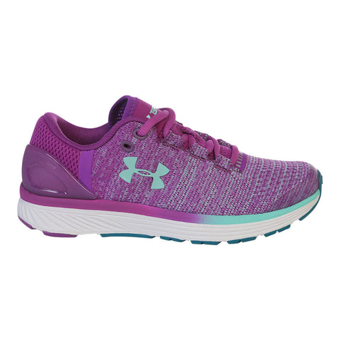 UNDER ARMOUR GIRLS GRADE SCHOOL CHARGED BANDIT 3 PURPLE/WHITE/BLUE