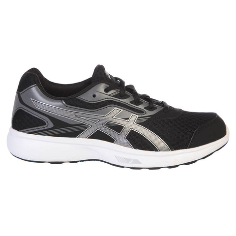 ASICS WOMEN'S STORMER RUNNING SHOE  BLACK/SILVER