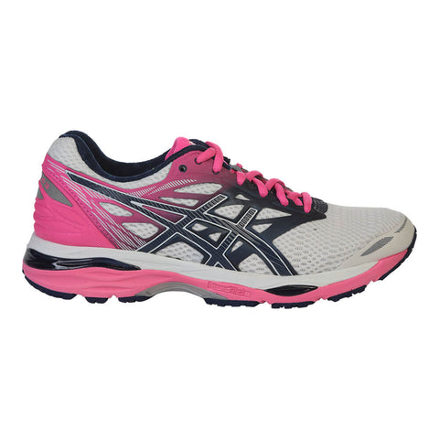 ASICS WOMEN'S GEL CUMULUS 18 RUNNING SHOE PINK/BLUE/WHITE