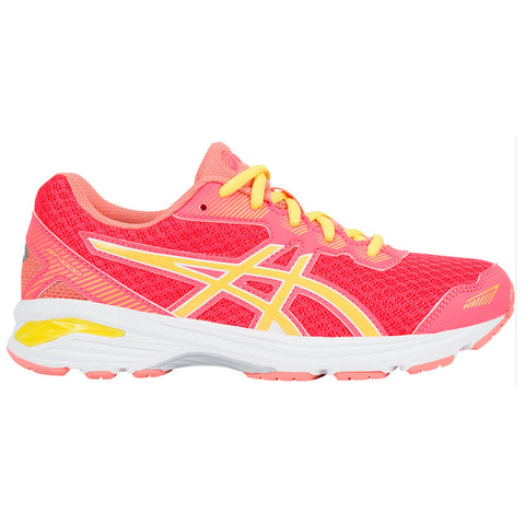 ASICS GIRLS GRADE SCHOOL GT-1000 5 PINK/SUN/MELON