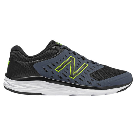 NEW BALANCE MEN'S M490V5 RUNNING SHOE  BLACK/THUNDER