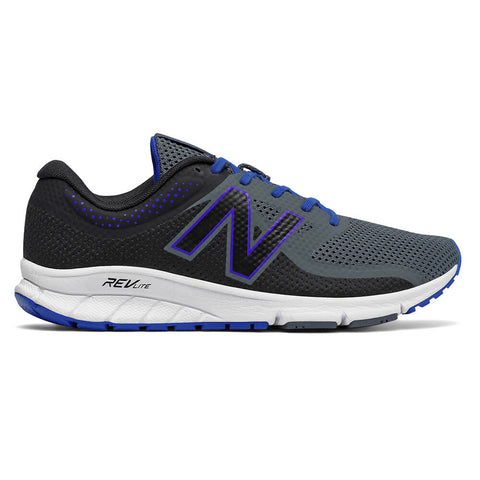 NEW BALANCE MEN'S QUICK RUNNING SHOE  BLACK/THUNDER