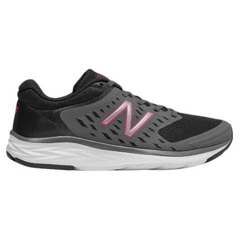 NEW BALANCE WOMEN'S W490V5 RUNNING SHOE BLACK/MAGNET