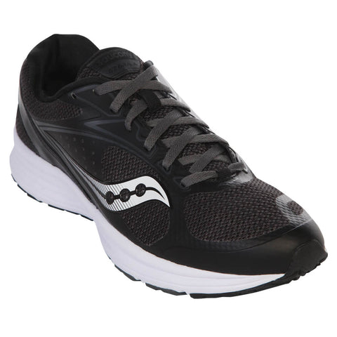 SAUCONY MEN'S AZARA 4 BLACK/GREY