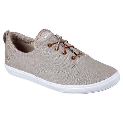 SKECHERS WOMEN'S  GO VULC 2 - DEFINITE LIFESTYLE  SHOE TAUPE