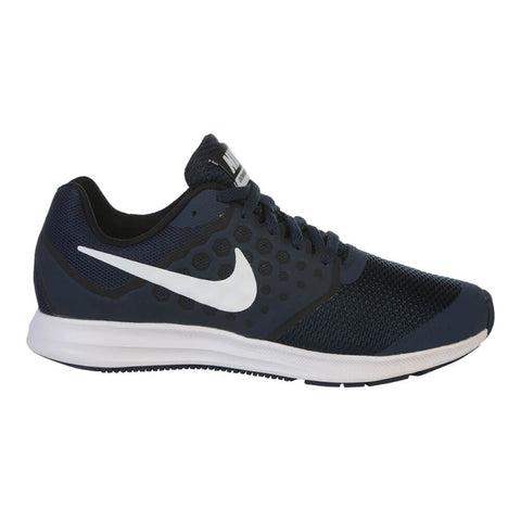 NIKE BOYS GRADE SCHOOL DOWNSHIFTER 7 NAVY/WHITE/OBSIDIAN