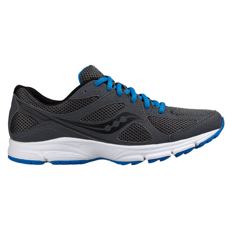SAUCONY MEN'S LEXICON 2 RUNNING SHOE CHARCOAL/ROYAL