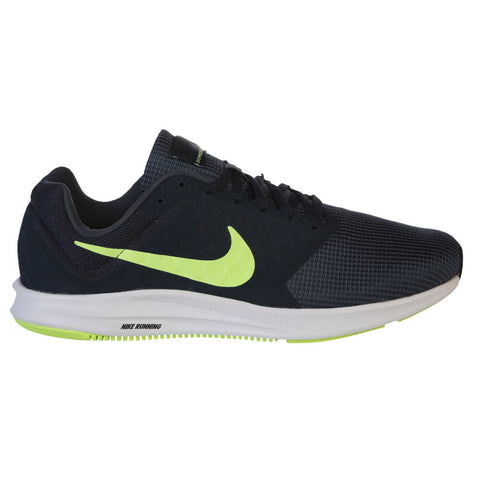 NIKE MEN'S DOWNSHIFTER 7 RUNNING SHOE BLUE/VOLT/OBSIDIAN
