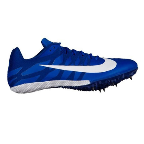 NIKE MEN'S ZOOM RIVAL S9 TRACK SPIKE ROYAL/WHT