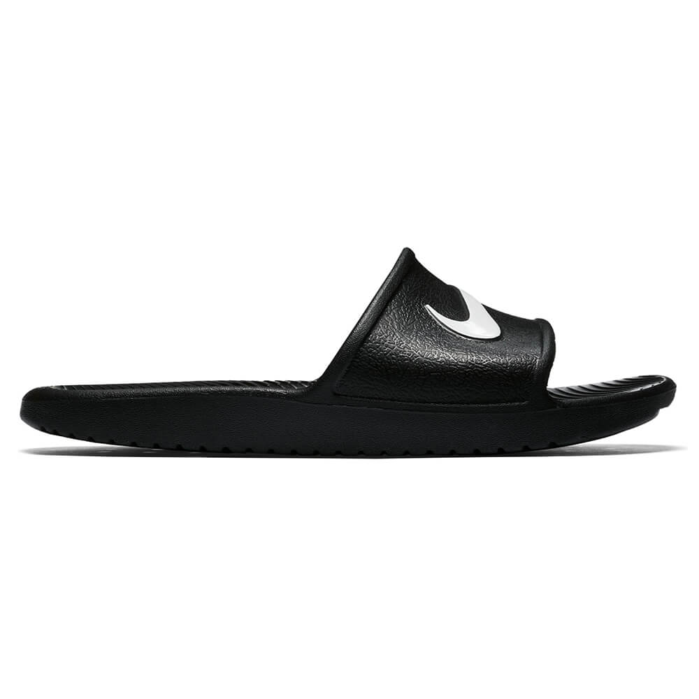 f5e3a5e84ee8 NIKE WOMEN S KAWA SHOWER SLIDE BLACK WHITE – National Sports