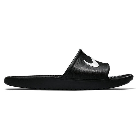 NIKE WOMEN S KAWA SHOWER SLIDE BLACK WHITE ... 1ba999e0c