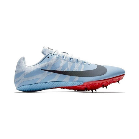 NIKE UNISEX ZOOM RIVAL S9 TRACK SPIKE BLUE/ICE BLUE/BRIGHT CRIMSON/BLUE FOX