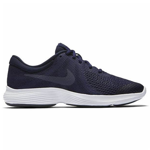 NIKE BOYS GRADE SCHOOL REVOLUTION 4 KIDS SHOE INDIGO/CARBON/OBSIDIAN