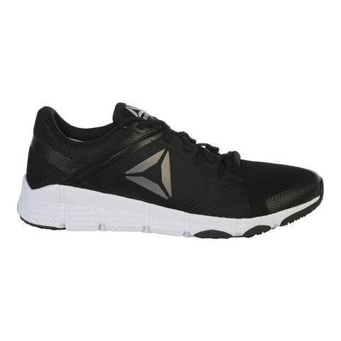 REEBOK MEN'S TRAINFLEX TRAINING SHOE BLACK/SILVER