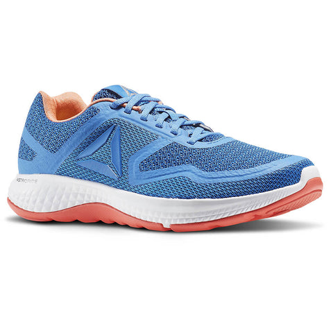 8de80fd2e REEBOK WOMEN S ASTRORIDE DUO RUNNING SHOE BLUE PEACH WHITE