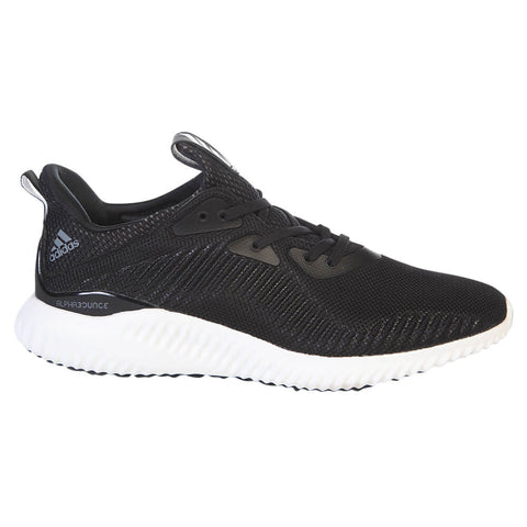 ADIDAS MEN'S ALPHABOUNCE 1 RUNNING SHOE BLACK/WHITE