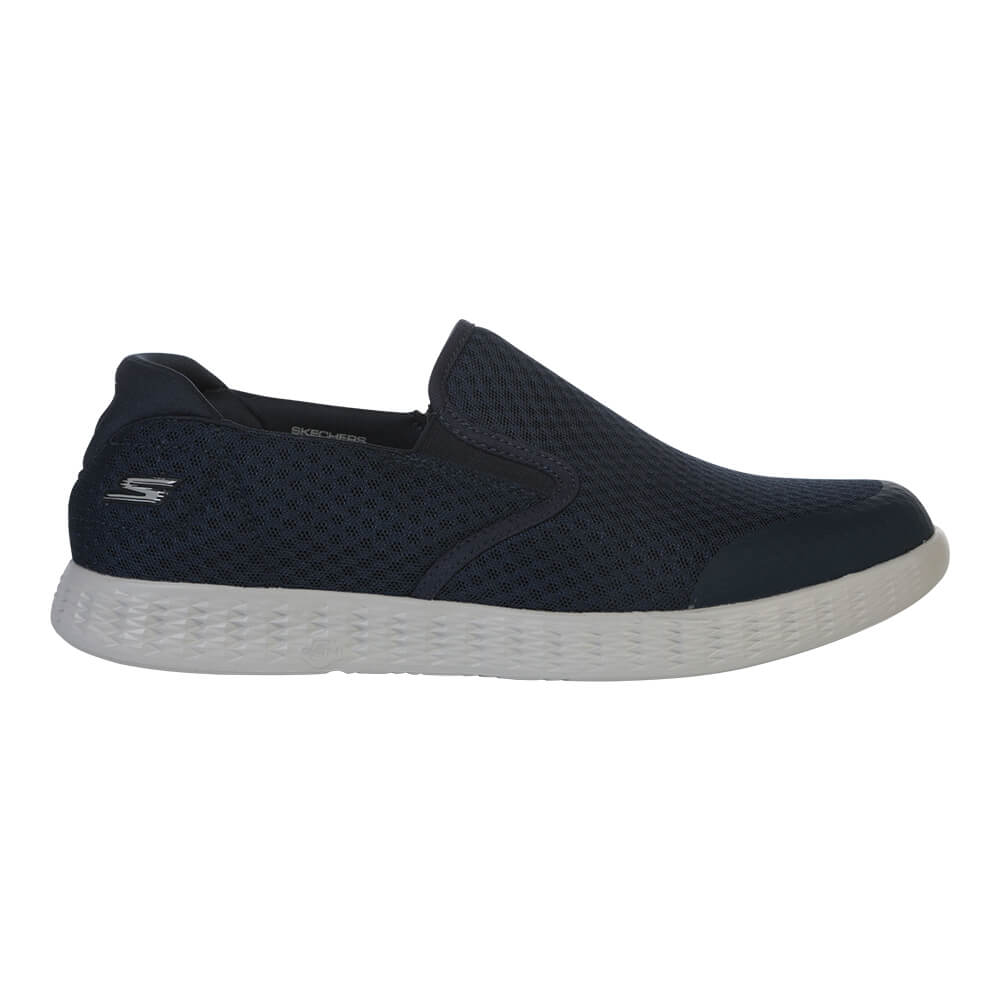 dfe84a24efc8 SKECHERS MEN S ON THE GO GLIDE - RESPONSE LIFESTYLE SHOE NAVY ...
