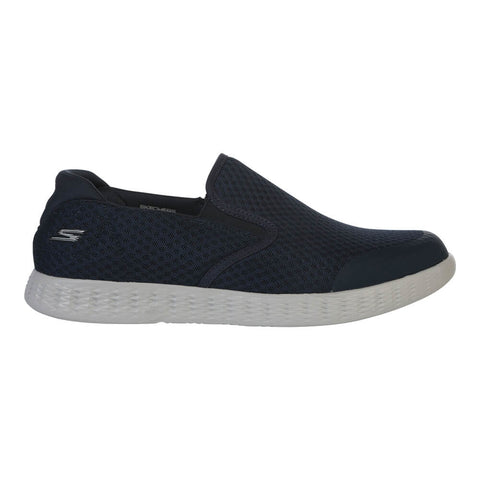 SKECHERS MEN'S ON THE GO GLIDE - RESPONSE LIFESTYLE SHOE NAVY