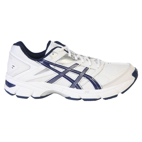 ASICS MEN'S GEL 190 TR TRAINING SHOE WHITE/NAVY/SILVER