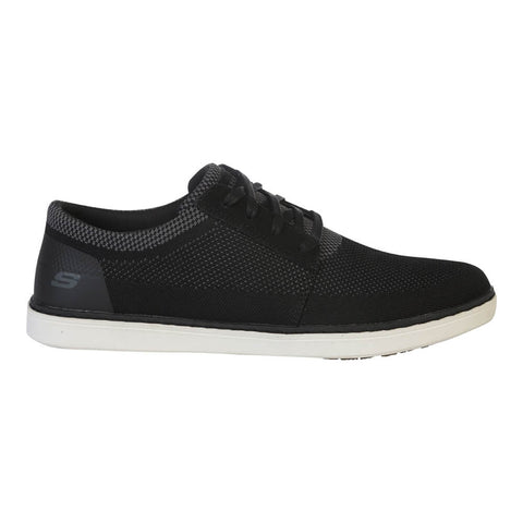 SKECHERS MEN'S LANSON - VANORIO LIFESTYLE SHOE BLACK