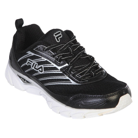 FILA WOMEN'S FORWARD RUNNING SHOE BLACK/SILVER