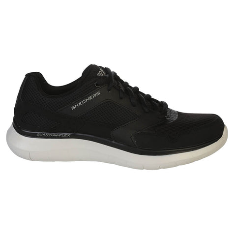 SKECHERS MEN'S QUANTUM-FLEX - HUDZICK WALKING SHOE BLACK/WHITE